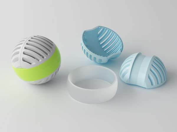 Laundry ball innovative product design jarvie design for Innovate product design
