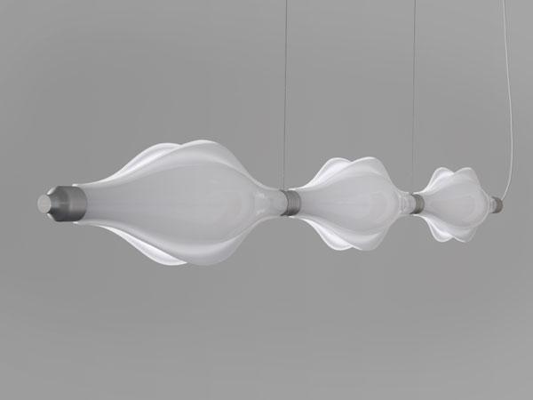 Undulus modular lighting system jarvie design
