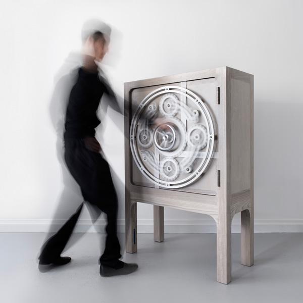 Safe Cabinet - luxury design - Scott Jarvie