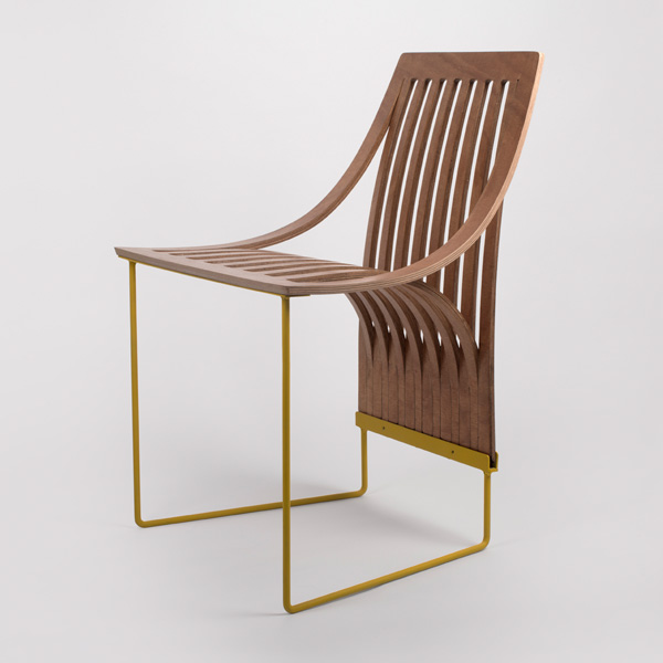 ... 20 Individual Timber Joints Per Chair), The One Cut Chair Is Laminated,  Resulting In The Joining Of Only 3 Or 5 Timber Elements, By Means Of  Lamination.