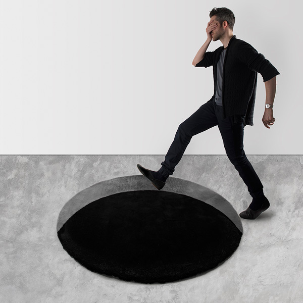 The Void Rug von Scott Jarvie