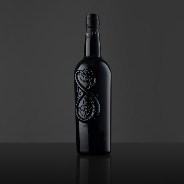 Whisky bottle design - Highland Park - The Dark