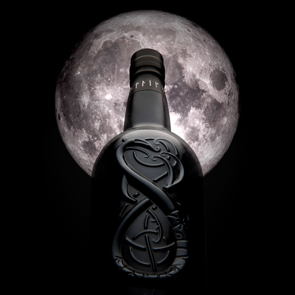 Whisky bottle design - Highland Park - The Dark - Moon Shot
