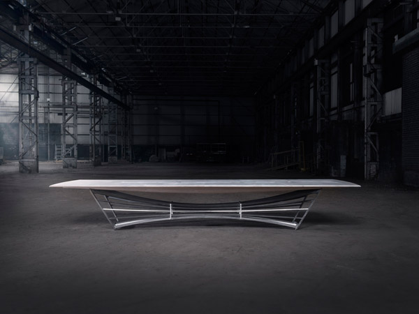 V&A Boardroom Table Dundee - Designed by Scott Jarvie