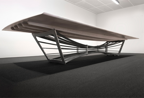 V&A Boardroom Table Dundee designed by Scott Jarvie