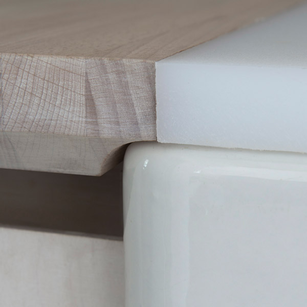 Jarvie Studio - worktop detail